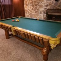 Golden West Pool Table/ Tornado Sport Football Table