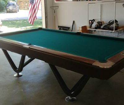 9 FT Brunswick Pool Table From the 70s (SOLD)