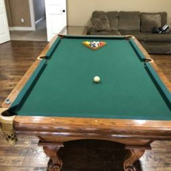 Pool Table with Ping Pong Cover (SOLD)