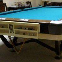 Regulation size antique Brunswick pool table  (SOLD)