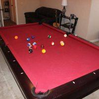8ft Brunswick Pool Table Great Shape