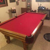 Golden West Billiards Pool Table