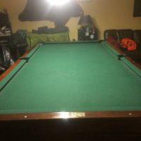 Brunswick Regulation Size Pool Table