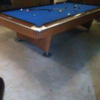 Original Golden Crown Brunswick Pool Table