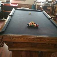 Brunswick-Balke-Collender Co Pool Table