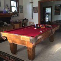 Beautiful Olhausen 8-Foot Billiards Table